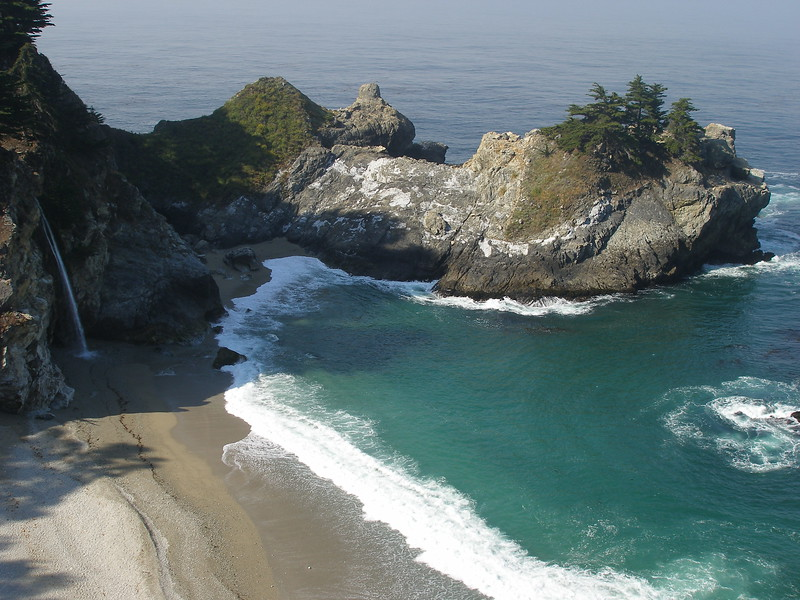 California's Iconic coastal Scenery, Pfieffer Sur Park