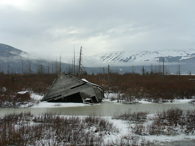 Frozen Homestead, Alaska