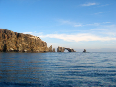 South Side Anacapa Arch, CA