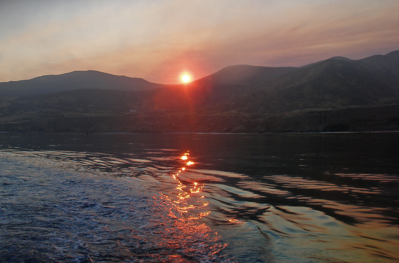 Johnson's Lee Sunrise, Santa Rosa Island CA