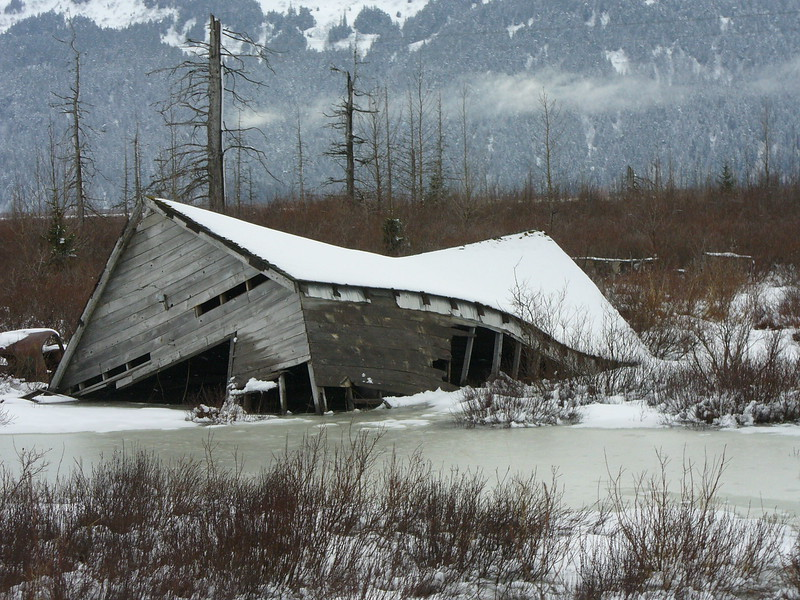 Twisted! Earthquakes in the 1960's devestated this Alaskan community