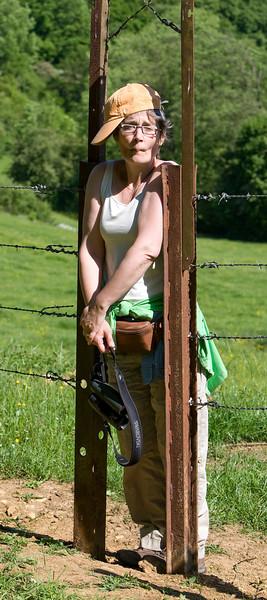 Clara geraakt niet door de smalle poort...