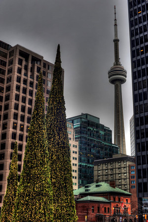 This year's holiday led us to Toronto where we had a great time ringing in the 2014 at Nathan Philips Square.