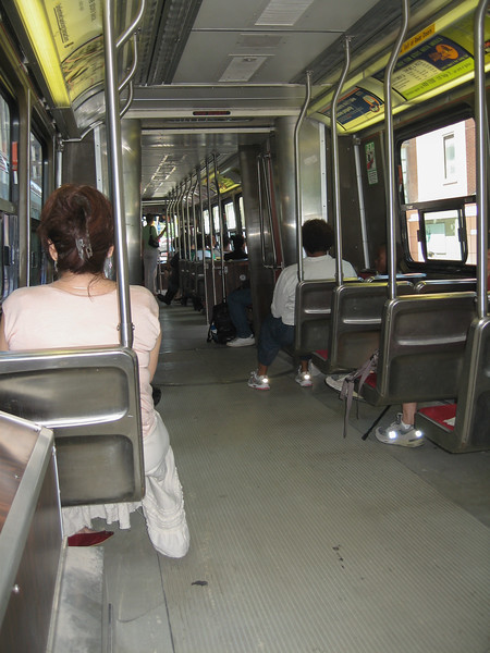 Articulated streetcar interior 2008 August 6 - ALRV