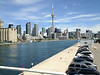 Toronto from airport ferry