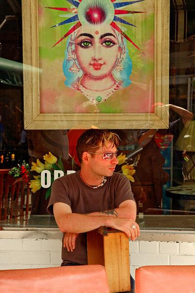 Shop Owner, Kensington Market