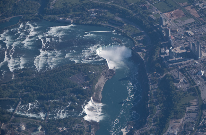 Niagara from plane