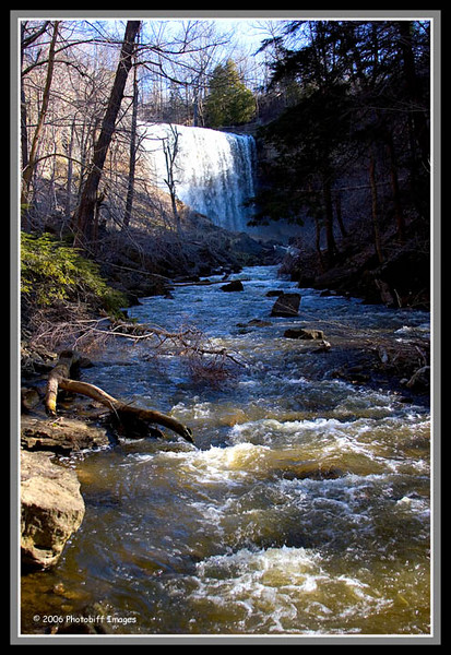 Bottom of the Falls...Websters Falls. West of Toronto, closer to Hamilton.