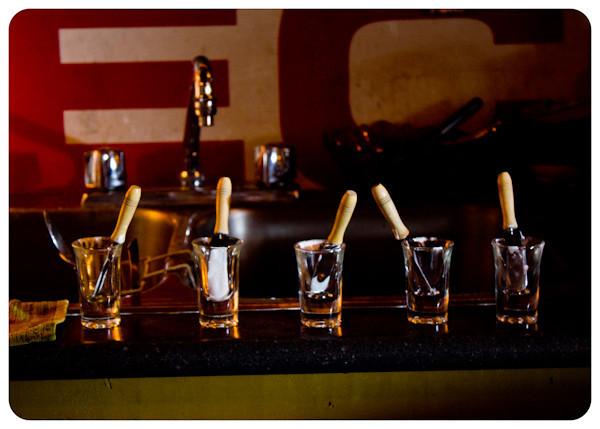 empty bar shots