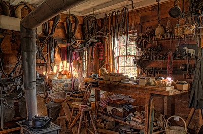 Inside The Saddler's Shop
