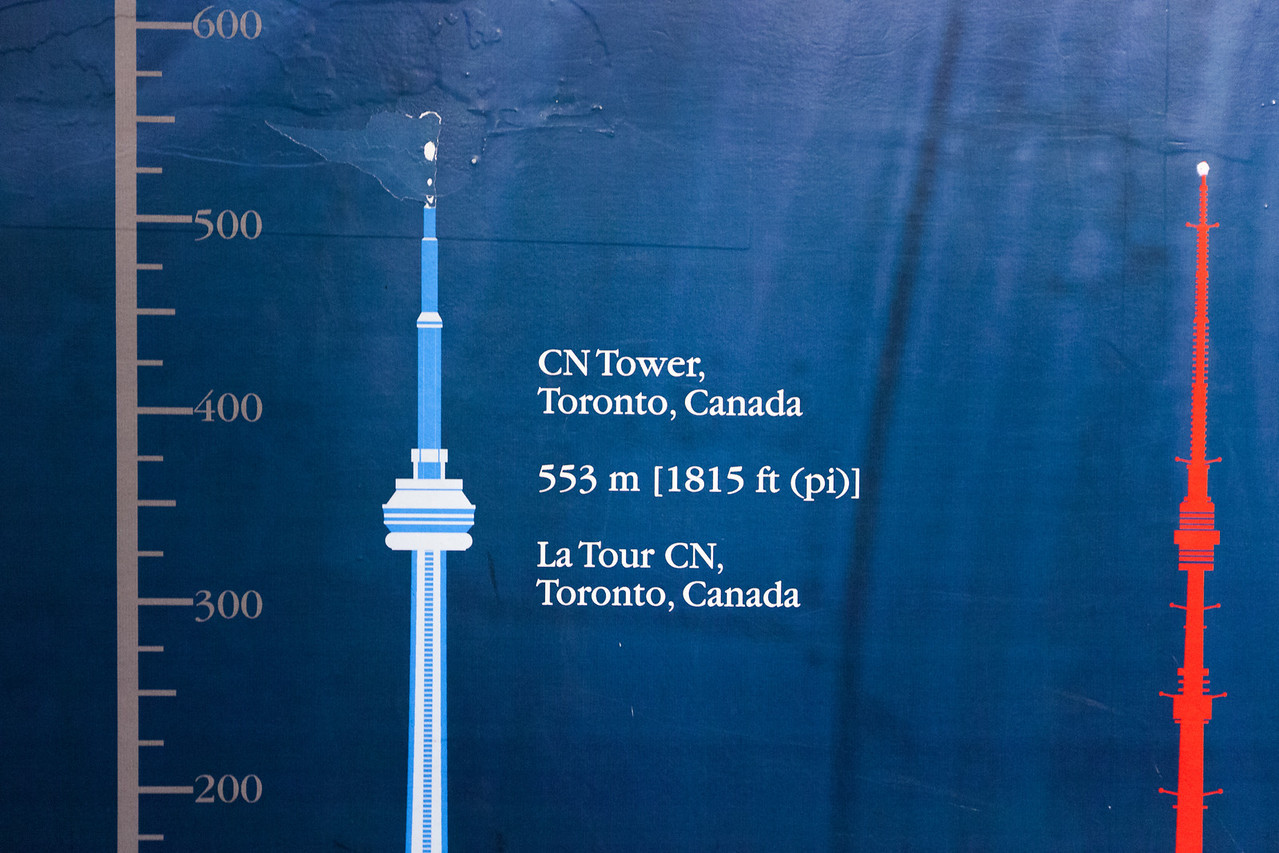 Cn Tower is tall