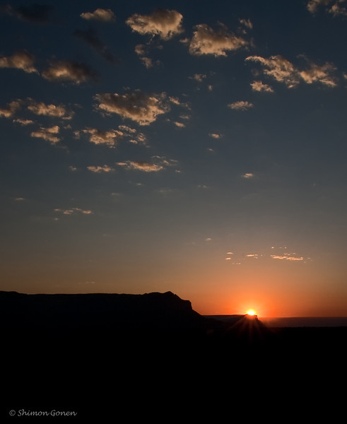 Toroweap Grand Canyon, sun rise