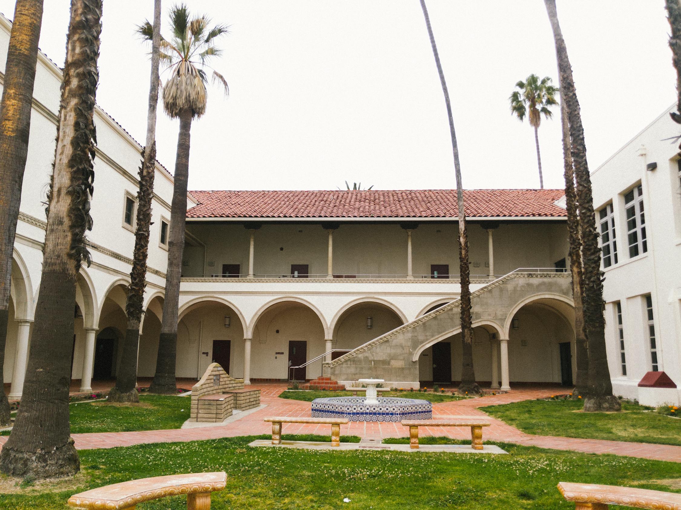 Torrance High School Courtyard