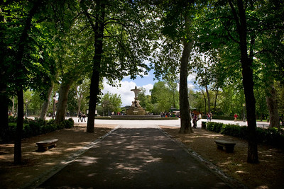 MADRID - Parque Del Retiro - This is a great place to take a break from sightseeing. It's relaxed and there's always something going on, mainly from buskers and musicians who do not busk.