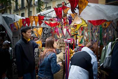 MADRID -Rastro flea market