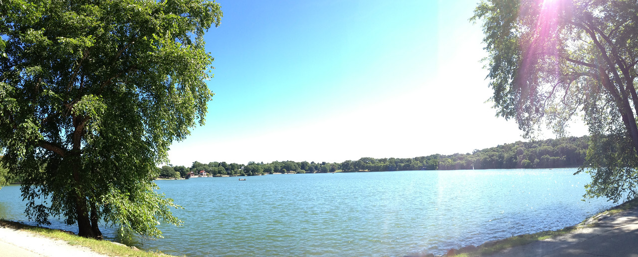 Made it all the way to Jamaica Pond! But not without a bit of a snafu...
