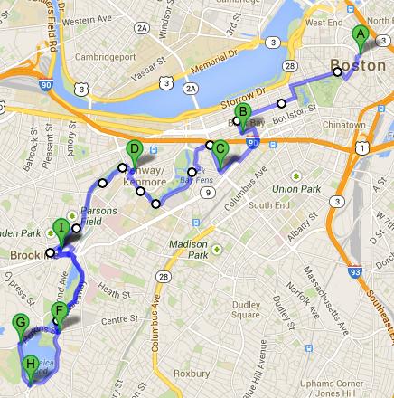 My Bike Route