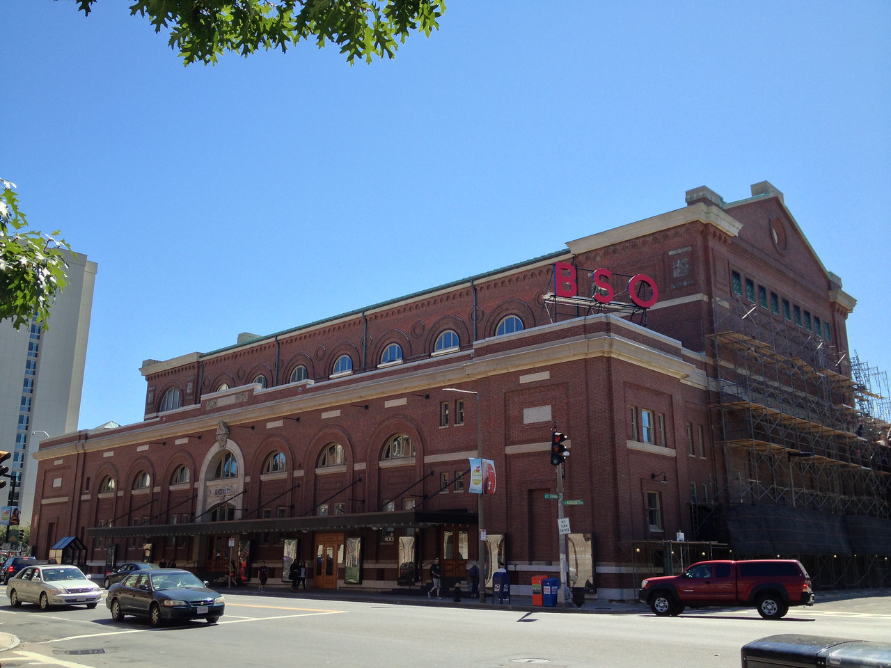 Symphony Hall, home of the Boston Symphony Orchestra. I picked up my next Hubway bike just down the street.