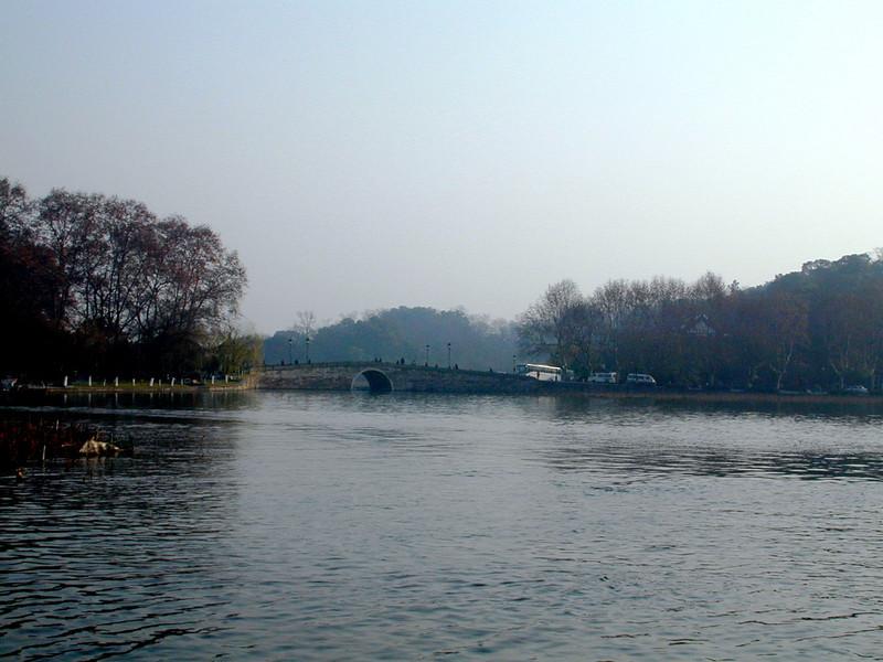 Hangzhou - a bridge on West Lake