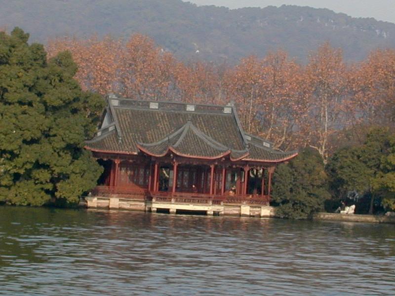 Hangzhou - scene at West Lake