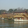 Hangzhou - This building on the water of West Lake is a high-priced restaurant.