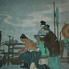 Hangzhou - Picture at the tomb of Yue Fei, showing his mother tattooing 4 characters on his back - ultimate loyalty to country.