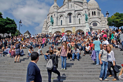 Steps of Sacre-Coeur