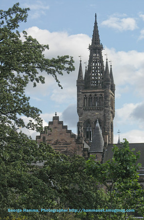 University of Glasgow main buildings