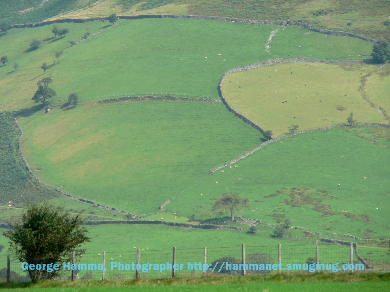 The hills near Castlerigg Stone Circle near Keswick