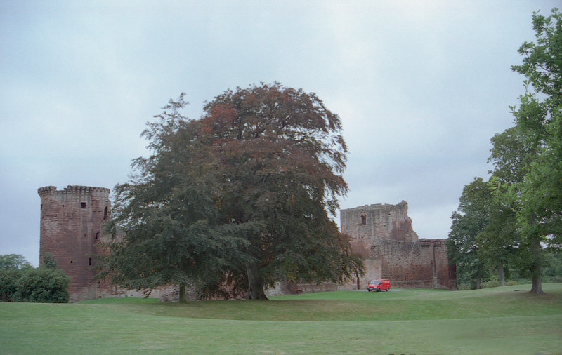 Bothwell Castle - belongs to Lord Bothwell, the kidnapper and probable lover of Mary Queen of Scots.