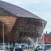 Wales Millennium Centre. UK Vacation 2014-07-11