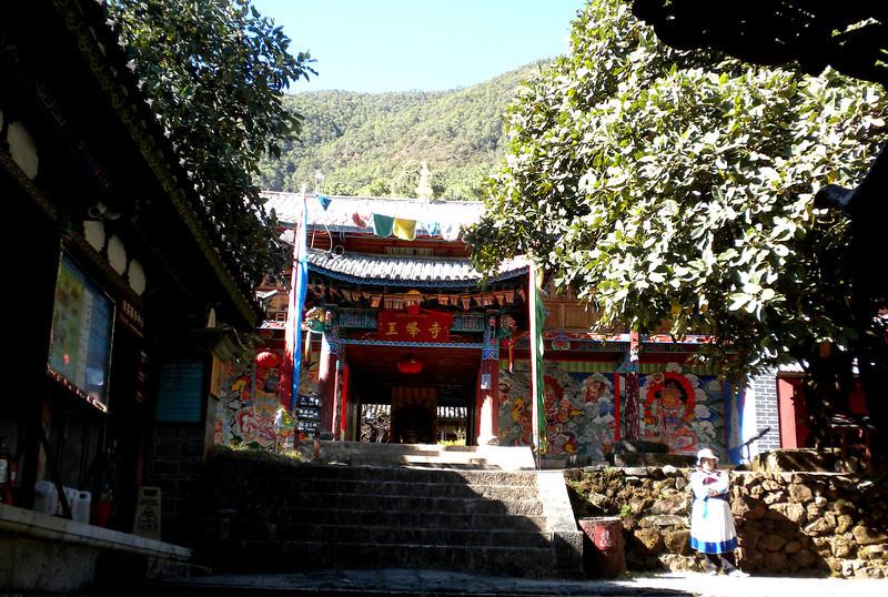 Lijiang (麗江) - Jade Peak Temple, a Tibetan Buddhist temple built about 300 years ago