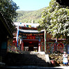 Lijiang (麗江) - Jade Peak Temple, a Tibetan Buddhist temple built about 300 years ago