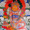 Lijiang (麗江) - Wall decoration on the Jade Peak Temple