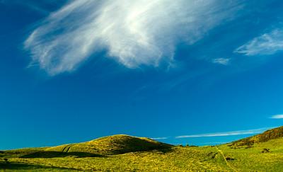 Hills and Sky, Manakau Heads