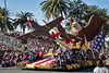 Float honoring the Tuskegee Airmen by the city of West Covina, CA
