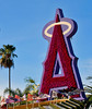 """A"" the LA Angels baseball team logo."