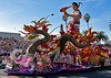 "China Airlines float.. ""Tiawan's Guardian, the Third Prince"""