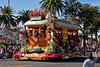 "The city of Alhambra float.. ""On Track in 2010""."