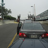 A Corolla wating for the Ferry in New Orleans.