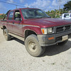 The Toyota HiLux of my friend Roland in Bonaire