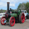 Fosters traction engine at Ruddington on 4th May 2013