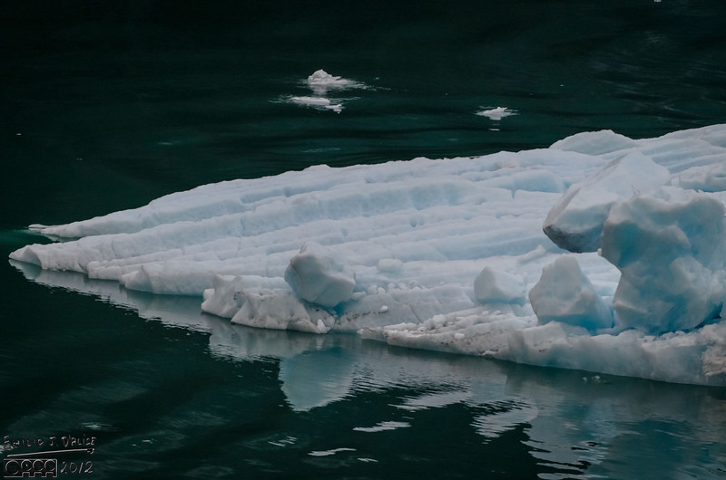 The ice was probably the most difficult to meter, especially given the variance in texture, and the surrounding water.