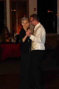 Mother/Son Dance -- Dan and Mom