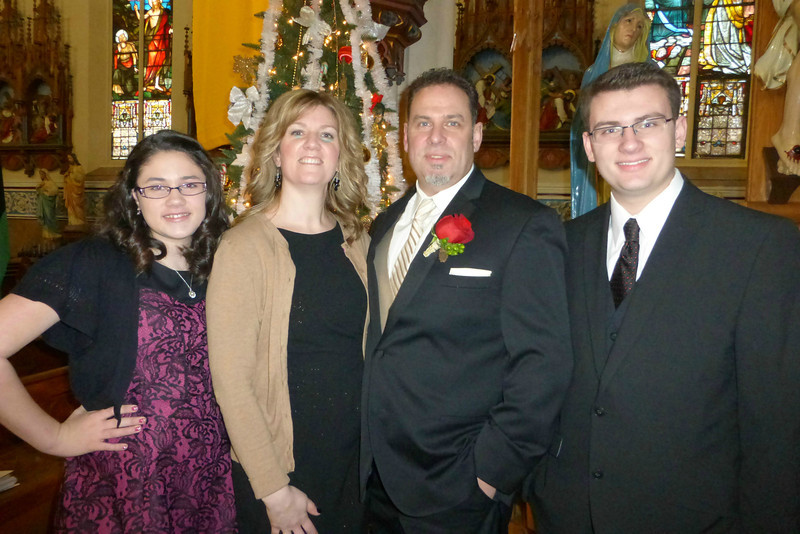 Doug's family - Ally, Karla, Doug and Jake