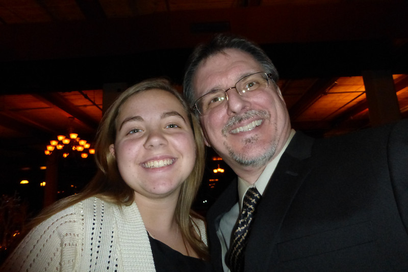 Katie (niece) and Mike
