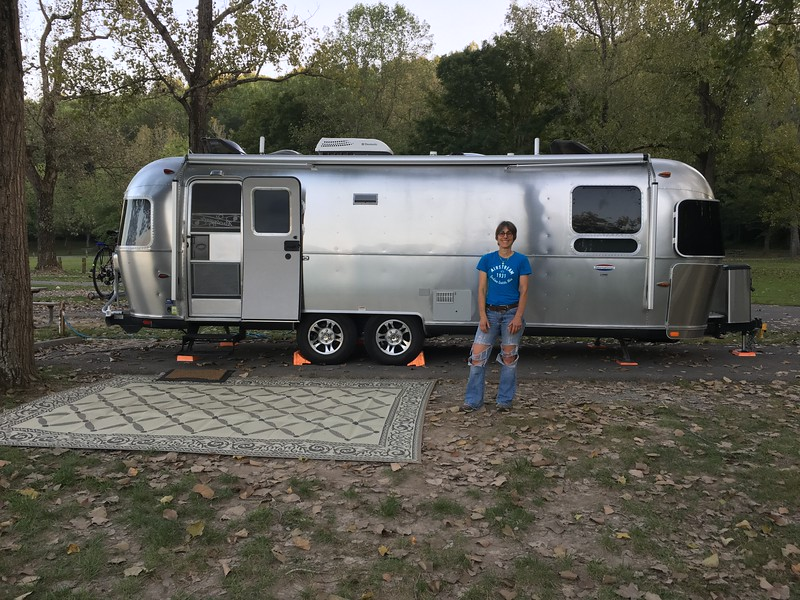 Spacious campsite at Trail of Tears SP