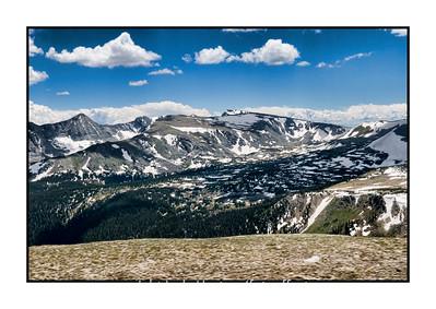 Trailridge Road in Rocky Mountain National Park