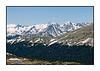 Along Trailridge Road in Rocky Mountain National Park in Colorado