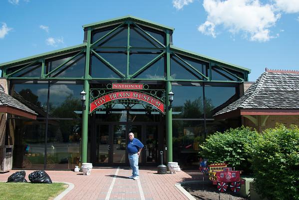 Train Museum in Strausburg, PA